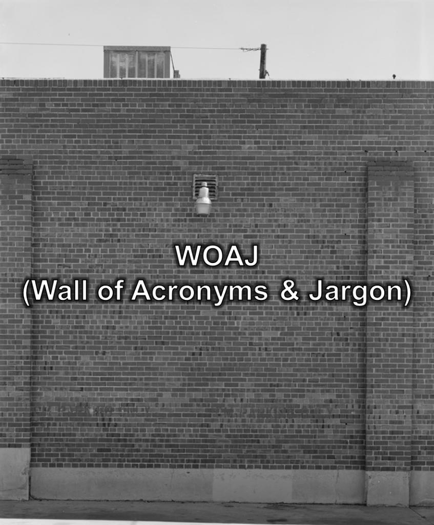 WallOfAcronymsAndJargon