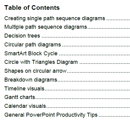 Diagrams ToC